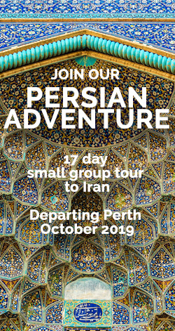 Small Group Iran Tour from Perth 2019